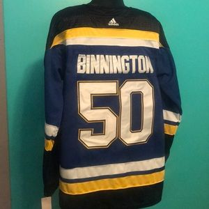Jordan Binnington St. Louis Blues Adidas Jersey XL